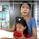 Testimonial from Holistic Bilingual Program